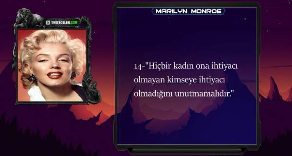 Marilyn Monroe - Sözleri video