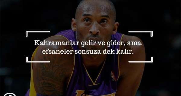 Çaba ve kararlılığa ilham veren Kobe Bryant Sözleri