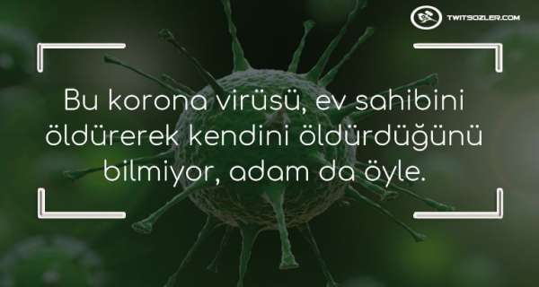 Komik Korona Virüs Sözleri