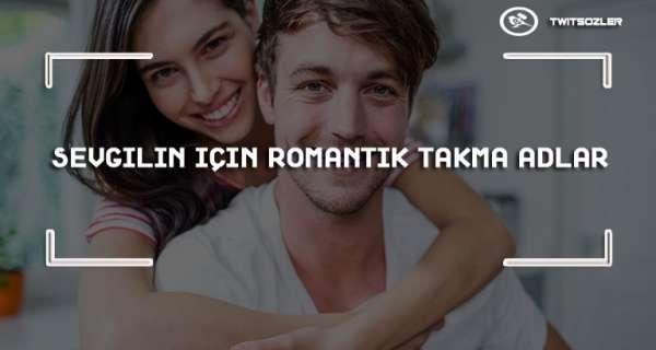Sevgilin için Romantik Takma Adlar