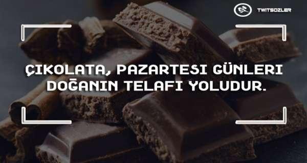 Çikolata ile İlgili Sözler ve Alıntılar