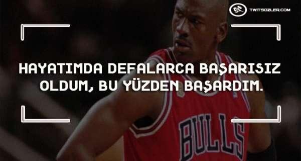 Motivasyonla eşanlamlı 25 Michael Jordan ifadesi