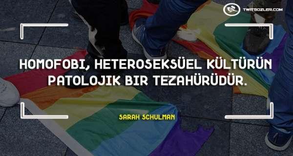 Homofobi ile İlgili Sözler ve Alıntılar