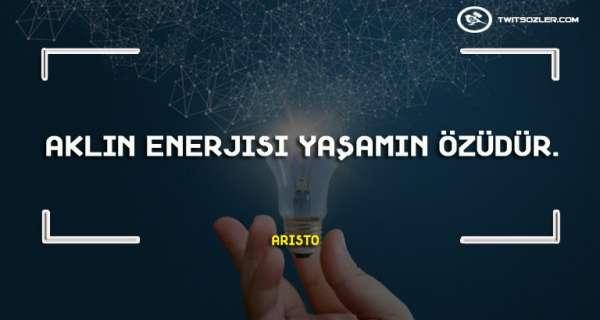 Enerji ile İlgili Sözler ve Alıntılar