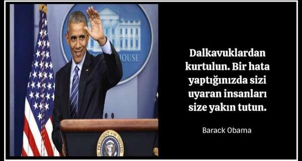 Bu siyasi lider hakkında daha fazla bilgi edinmek için 25 Barack Obama sözü
