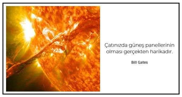 Güneş Enerjisi ve Güneşle İlgili Sözler ve Alıntılar